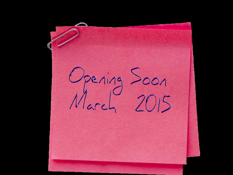 Opening Soon - web note